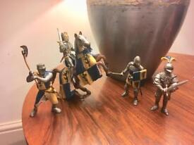 Schleich Knight figures