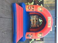 Mickey Mouse and Friends Bouncy Castle with Blower - 12x15ft