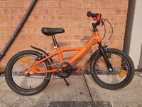 "B'twin 500 Robot kids bike 16"" wheels ages 4 - 6"