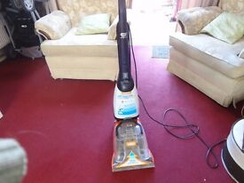 vax rapide carpet cleaner working