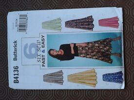 Butterick skirt pattern