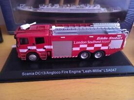 Eddie Stobart fire engine