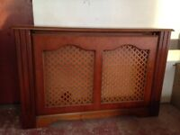 2 Radiator Covers and 1 Matching Mirror