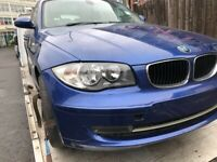 09 BMW 1 SERIES DIESEL FOR BREAKING ALL PARTS AVAILABLE