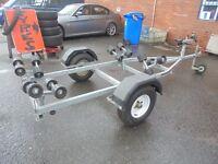 jetski roller trailer