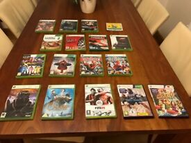Xbox 360 games - racing, kids, footbal, spiderman and more great games