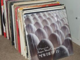 "130 x 12"" House Music Vinyl Collection 90's- 2000's. TOP TUNES!!"