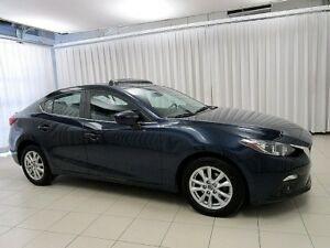 2014 Mazda 3 GS 6-Speed SkyActiv! Sunroof! Back-up cam, heated