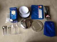Camping lamp and kitchen bundle