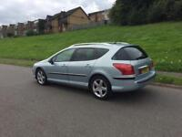 PEUGEOT 407 2.0 HDI AUTO EXECUTIVE ESTATE PAN ROOF TO SPEC