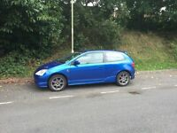 Honda Civic Sport 1.6 VTEC 3 Door (Type R Body Kit and Wheels) Heated Leather Sport Seats