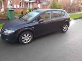 Black Seat Leon 1.9 TDI Stylance £1795