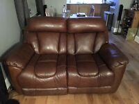 Dfs supreme 3 piece leather suite