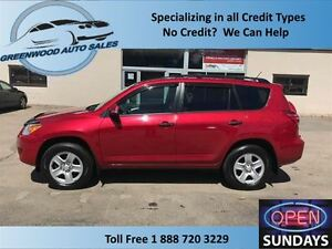 2012 Toyota RAV4 4X4, V6, AC, CRUISE....FINANCE NOW!!!!!