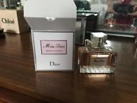 Miss Dior Perfume 50 ml - Absolutely Blooming - almost unused