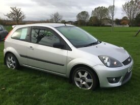 £30 Road Tax * FORD FIESTA Zetec S with leather 60 MPG + FAntastic COndition DIESEL TDCi Sports car