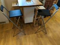 Stools/chairs breakfast bar seating