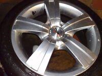 "TSW Alloy Wheels R16"" £165 GOOD TYRES Four Stud"