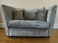 Immaculate Sofology loveseat sofa. Was £1,199