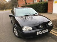 Volkswagen Golf 1.4 Hatchback 1 Years Full MOT