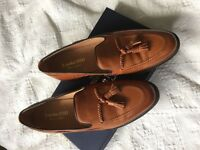 Loake 1880 Temple Brown Tassel Loafer - New Slight Seconds RRP £215 SIZE 9.5
