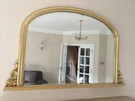 A Beautiful Ornate Mirror 120x80cm .....IN PERFECT CONDITION