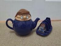 Tetley Teapot & Toast Rack