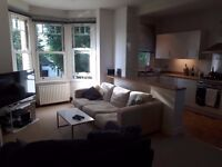 Double room in spacious 2-bed flat w/ garden