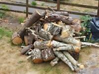 Logs Open Fire Log Burner Fire pit Aga Smoker Hardwood Softwood