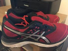 ASICS Gel Pulse 9 Men's running shoes in red/black size 45