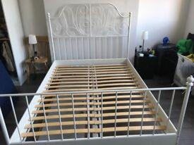 FREE - EU double - IKEA LEIRVIK bed frame