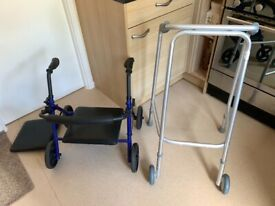Mobility Zimmer frame Garden Rollater seat