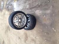 17 inch mustang rims only 2
