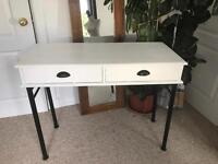 Black and white desk / console table