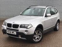 2006 BMW X3 SE, 2.0 DIESEL ENGINE, 6 SPEED MANUAL, FULL SERVICE HISTORY.