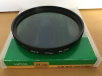 Hoya 77mm Circular Polarizing Filter