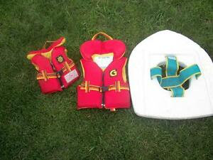 ** Kid's Inflatable Pool Ring, Sprinkler, Life Jackets & Tubes**