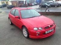 MG ZR 1.8 120 + 5dr (red) 2002