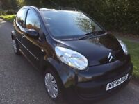 CITROEN C1 DIESEL 1.4 HDI RHYTHM 5 DOOR 56 REG IN BLACK WITH GREY TRIM, MOT JAN 2018 07867955762