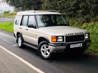 Spain car ROT FREE 2000 Land Rover Discovery 2.5 TD5 GS. trade in considered, credit cards accepted