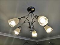 5 Lamp Ceiling Light Fitting