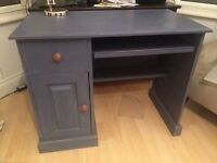 Shabby chic pine desk painted in Annie Sloan chalk paint