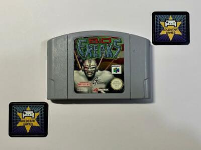 Bio Freaks - Nintendo 64 N64 *Cartridge Only* Play Tested *G*