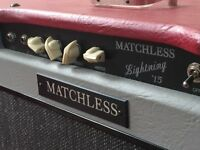 RARE 1996 MATCHLESS LIGHTNING 2x10 SAMPSON ERA + padded cover