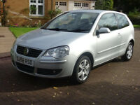 VOLKSWAGEN POLO 1.4 MATCH TDI 3d 68 BHP TIMING BELT CHANGED ++ (silver) 2008