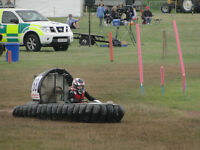 Junior class racing hovercraft rotax powered suitable for ages 8-13