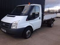 2007 (57) Ford Transit Tipper 2.4 TDCi Duratorq 350 M Chassis Cab 2dr (DRW, MWB) Finance Available