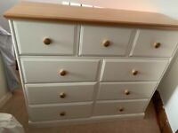 Solid wood chest or drawers