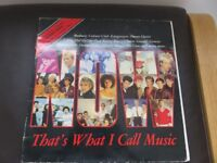Selection of 4 'Now thats What I Call Music' LP's