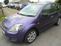 ford fiesta 1.4 tdci 5 door purpel nolt 53000 miles full years mot